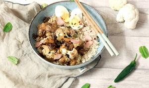 Chou-fleur sauce teriyaki