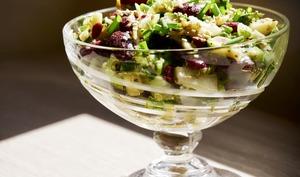 Salade alcaline