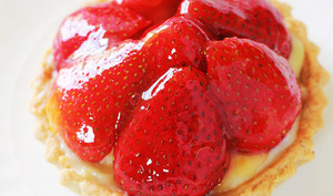 Tartelettes aux fraises crème pâtissière