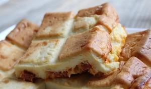 Quiche sans pâte aillets chorizo