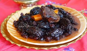 Marka hlouwa aux pruneaux et raisins secs noir