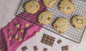 Cookies au chocolat au lait et gingembre