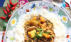 Curry de Macao aux restes de viandes