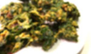 Pakoras d'épinards