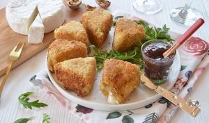 Beignets de camembert faciles