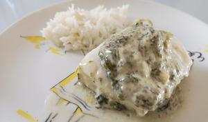 Cabillaud sauce à l'oseille