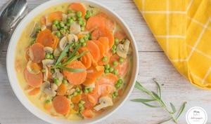 Blanquette de légumes à l'estragon