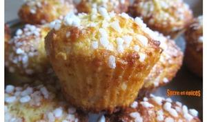Muffins ricotta citron