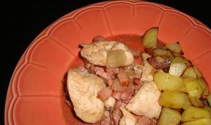 Aiguillettes de poulet au vinaigre balsamique