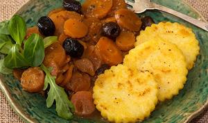 Daube de carottes et polenta