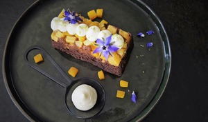Pudding mangue-ananas et gingembre