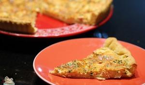 Tarte au saumon et Boursin
