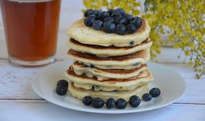 Pancakes américains aux myrtilles