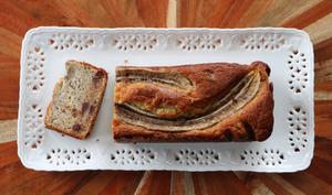 Mon banana bread aux pépites de chocolat
