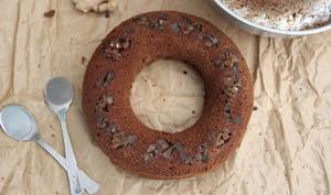 Gâteau chocolat, gingembre et miso