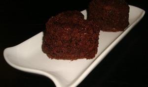 Mini moelleux chocolat et courgette