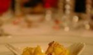 Cassolette de homard flambée au whisky