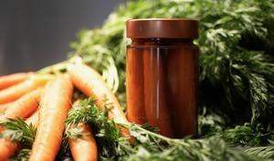 Pickles de carottes.