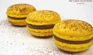 Macarons Chocolat au Lait Passion