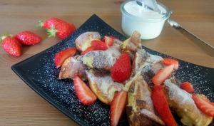Kaiserschmarrn aux fraises