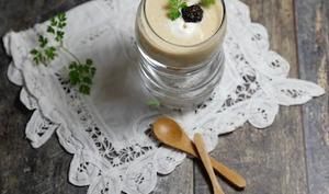 Crème truffée au café et mousse mascarpone