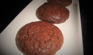 Biscuit tout simple au chocolat