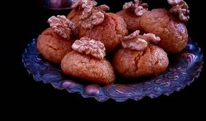 "Sekerpare ""Gâteau turc à la semoule"" - Culinaire Amoula"