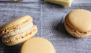 Macarons, ganache montée à la vanille