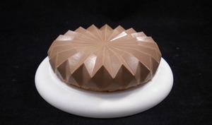Entremets origami Namelaka