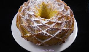 Bundt cake à la vanille