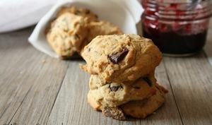 Biscuits aux graines de tournesol et chocolat