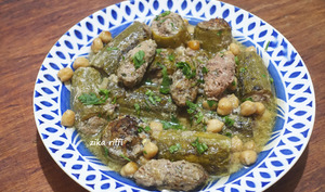 DOLMA COURGETTES-COURGETTES FARCIES