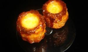 Mini-cannelés au chorizo et au parmesan