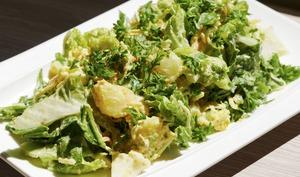 Salade rustique de légumes nouveaux