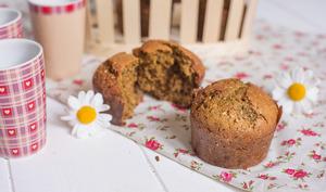 Muffins de Thomas à la farine de lentilles