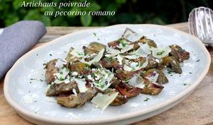 Artichauts poivrade au pecorino romano