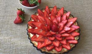 Tarte aux fraises et au citron
