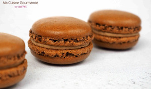 Macarons Chocolat au Lait Tonka