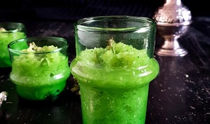 Salade de concombre vert long à la marocaine