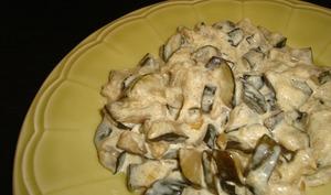Poêlée de courgette au curry et au piment d'Espelette
