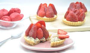 Tartelettes aux fraises et poivre de timut