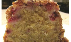 Gâteau fondant framboises citron