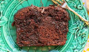 Gâteau crémeux chocolat-whisky