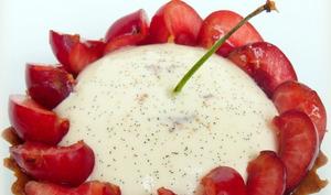 Tartelettes aux cerises et vanille