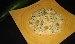 Salade de courgettes à l'indienne