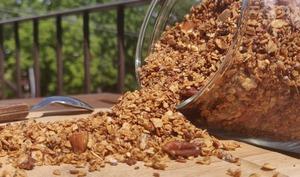 Granola double choco et noix