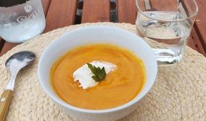 Potage de carotte coco