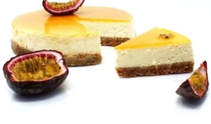 Cheesecake fruit de la passion
