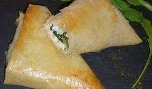 Bricks ou samoussas de courgette à la féta – La cuisine du mercredi