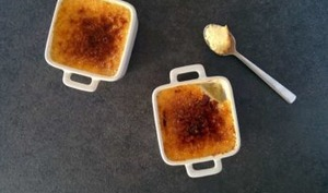 Crème brûlée facile à la vanille